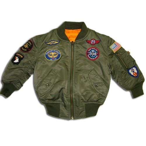 Youth MA-1 with Patches - Buy Youth MA-1 with Patches - Purchase Youth MA-1 with Patches (Alpha, Alpha Mens Outerwear, Apparel, Departments, Men, Outerwear, Mens Outerwear)