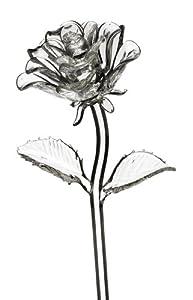 Waterford Fleurology Glass Flower, Rose