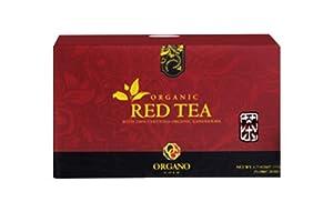 OrGano Gold Red Tea w/Cordyceps and Ganoderma (25 sachets)