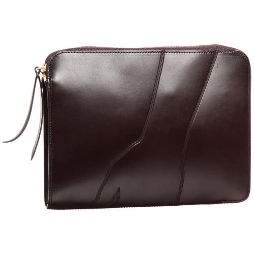 [ビージルシヨシダ] B印YOSHIDA LUGGAGE LABEL×B印 YOSHIDA shadow (SMALL CLUTCH BAG) 34620028176 34620028176 28 (BROWN/ONE SIZE)