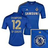 Chelsea FC Champions of Europe Home Football Shirt 2012/13 (XL)