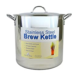 7.5 (30 Qt) Gallon Stainless Steel Stock Pot with Lid