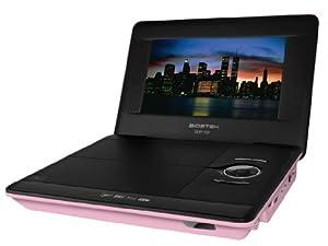 "Biostek BDP-700 Lecteur DVD portable 7"" USB Rose"