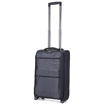 "Aerolite Super Lightweight World lightest Suitcase Trolley Cases Bag Luggage (18"" 21"" 26"" 29"" 32"" 10 year Guarantee) (18"", Grey (2 Wheel))"