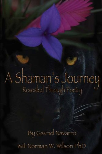 A Shaman's Journey Revealed Through Poetry: Gavriel Navarro, Norman W Wilson PhD: 9780989273428: Amazon.com: Books
