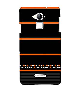 Colorful Dots Pattern 3D Hard Polycarbonate Designer Back Case Cover for Coolpad Note 3