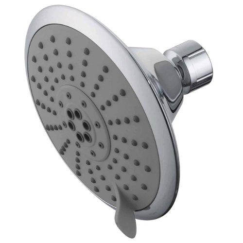 Kingston Brass Watersense KX251 5-inch Diameter 5 Functions Spray Pattern Shower Head, Polished Chrome