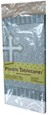 Creative Converting Devotion Cross Plastic Banquet Table