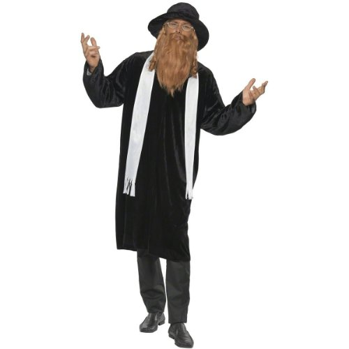 Rabbi Costume - Medium - Chest Size 38-40