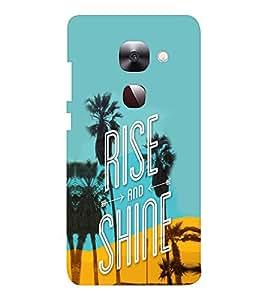 EPICCASE Rise N Shine Mobile Back Case Cover For LeEco Le Max2 (Designer Case)