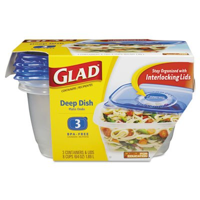 Gladware Deep Dish 6/3