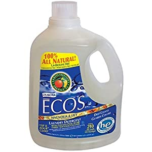 Earth Friendly Products ECOS Liquid Laundry Detergent Magnolia & Lily