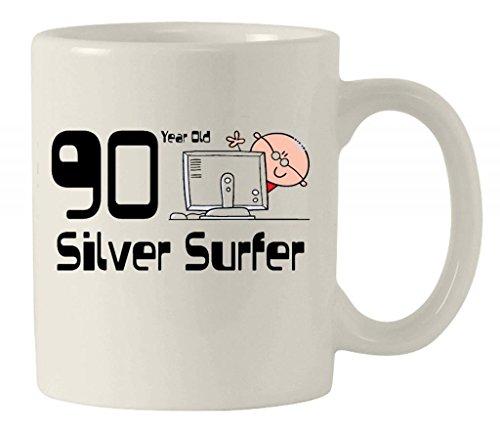 Silver Surfer Men's-Tazza in ceramica dedicata al 90° compleanno