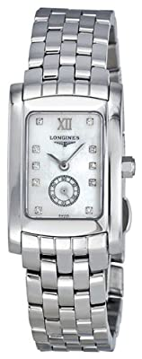 Longines Dolce Vita Diamond Mother of Pearl Ladies Watch L5.155.4.84.6 from Longines