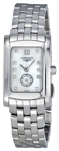 Longines Dolce Vita Diamond Mother of Pearl Ladies Watch L5.155.4.84.6