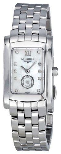 Longines Dolce Vita Diamond Mother of Pearl Ladies Watch L5.155.4.84.6