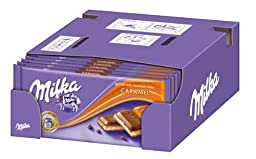 Milka Caramel 10-pack