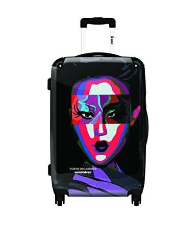 Ikase 24 Tokyo Decadence Rolling Luggage, Multi