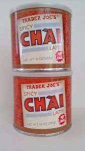 Trader Joes Spicy Chai Latte 10 Oz 2 Pack