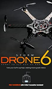STORM Drone 6 Flying Platform