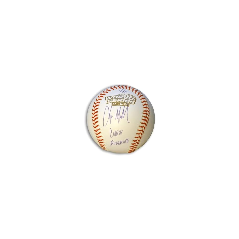 Kevin Millar Signed World Series Baseball w/inscription LE