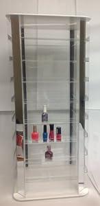 Rotating Nail Polish Display Holds 200 Bottles
