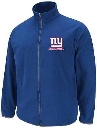 NFL Mens New York Giants Team Spotlight Deep Royal Storm Gray Long Sleeve Full Zip... by VF LSG