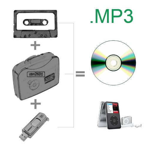 Noneed Full Mp3: CISNO New Handheld Cassette To MP3 Tape To Mp3 No NEED