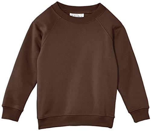 trutex-unisex-crew-neck-sweatshirt-brown-5-6-years-manufacturer-size-22-23-chest