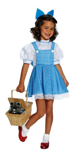 Wizard of Oz Child's Deluxe Dorothy Costume