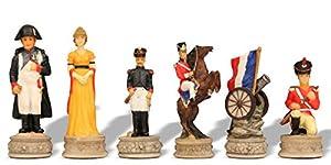 Battle of Waterloo Theme Chess Set