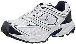 Sparx Mens White Running Shoes - 8 UK (SM-118)