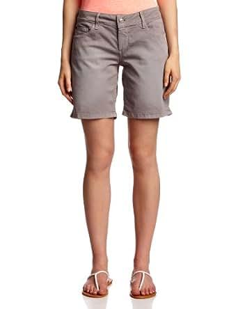 ESPRIT - Jeans - Boyfriend Femme - Gris - Grau (077 soft grey wash) - FR : 26 (FR 36) (Brand size : 26)