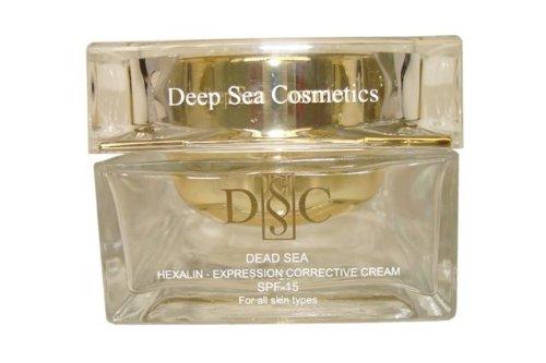 Deep Sea Cosmetics Dead Sea DSC Hexalin – Expression Corrective Cream Spf-15