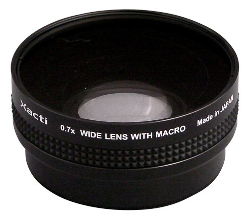 Sanyo VCP-L07W1U 0.7x Wide Angle Adapter Lens for Sanyo FH1, TH1 Camcorders