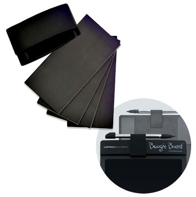 Best Prices! Boogie Board Stylus Clip/Magnet Kit for Boogie Board 8.5 Inch LCD Writing Tablet (Black...