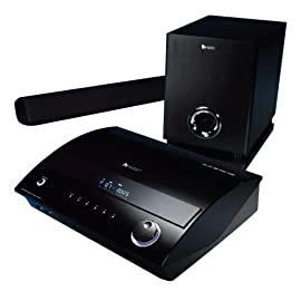 Sherwood VR652B DVD Theater with Speaker Bar (Black Lacquer)