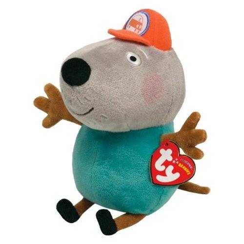 TY Beanie Baby - GRANDAD DOG (UK Exclusive - Peppa Pig) - 1