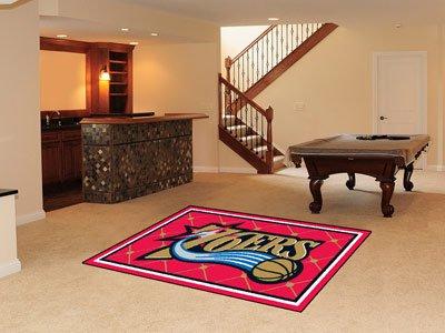 Philadelphia 76ers 5' x 8' Area Rugs