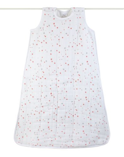 Aden + Anais 100% Cotton Muslin Cozy Plus Sleeping Bag, Make Believe, Small Color: Make Believe Size: Small Newborn, Kid, Child, Childern, Infant, Baby front-545009