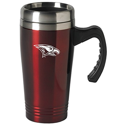 North Carolina Central University-16 oz. Stainless Steel Mug-Burgundy (North Carolina Central University compare prices)