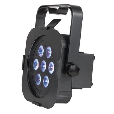 American DJ Flat Par Tri 7X Bright 7 x 3 Watts Tri-Colored LED Wash Fixture