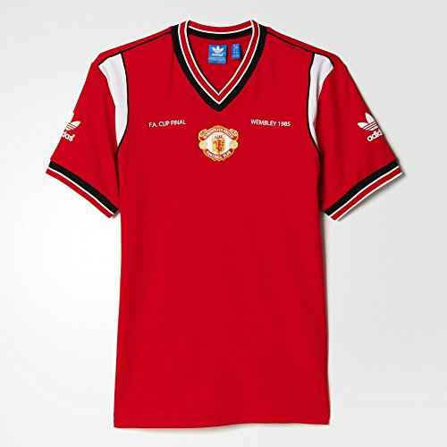Adidas Mens Originals Manchester United 1985 Home Jersey Large (Manchester United Classic compare prices)