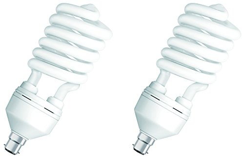 Osram-28W-B22d-Spiral-CFL-Bulb-(Cool-Day-Light,-Pack-of-2)