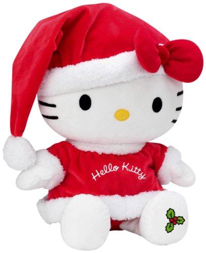 Peluche Hello Kitty de Navidad -  27 cm