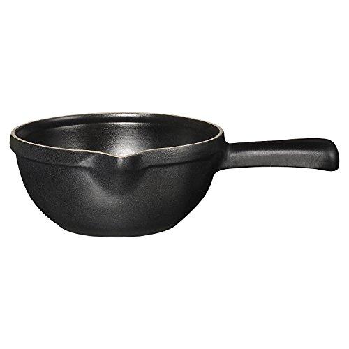 Emile Henry 1-Quart Sauce Pot, Noir