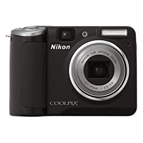 Nikon Coolpix P50 8.1MP Digital Camera with 3.6x Wide Angle Optical zoom