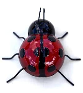 Metal ladybird wall art from Vectis