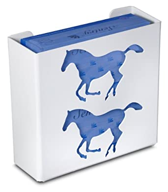 "TrippNT 50926 Priced Right Double Glove Box Holder with Horse, 11"" Width x 10"" Height x 4"" Depth"