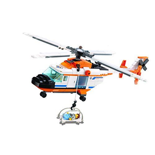 Dream Builders Air Recon Chopper Model Kit (300-Piece)